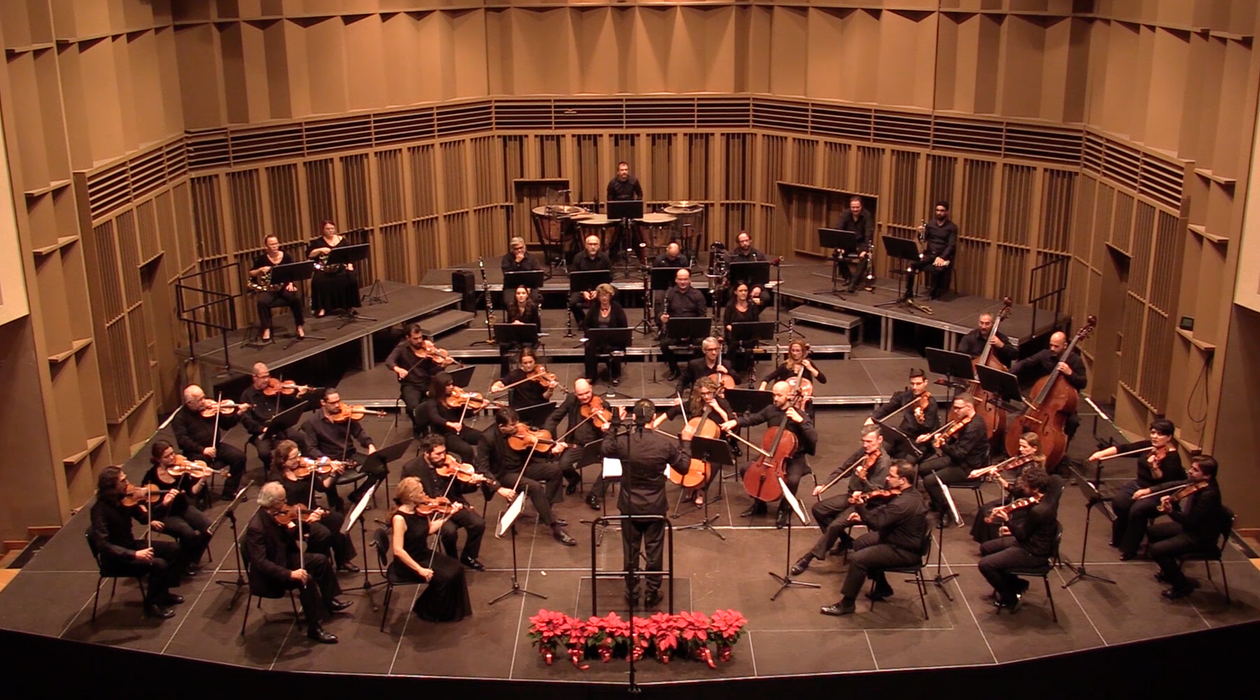 'The Plane of return' Cyprus Symphony Orchestra at Pallas Theater (photo credtis: Sophoklis Sophokleous)