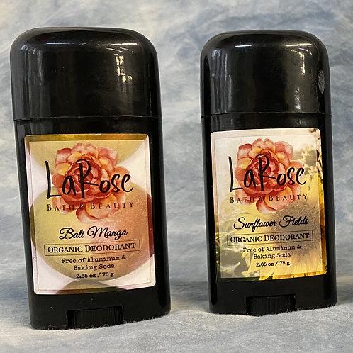 La Rose Organic Deodorant