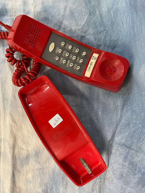 Old School Red Phone