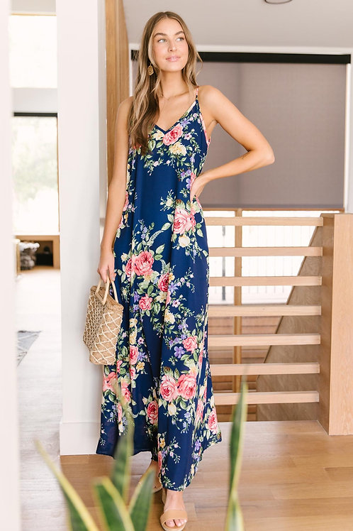Stuck with Me Floral Maxi