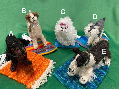 Knitted Doggies byAnnie
