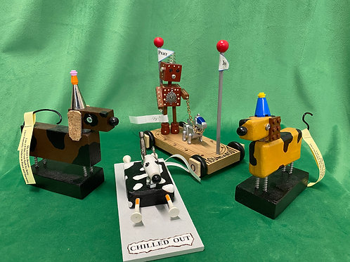 Dog B-Bots by Betty