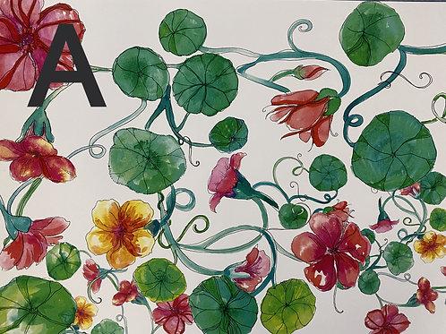 Gypsy Gardener Vinyl Placemats