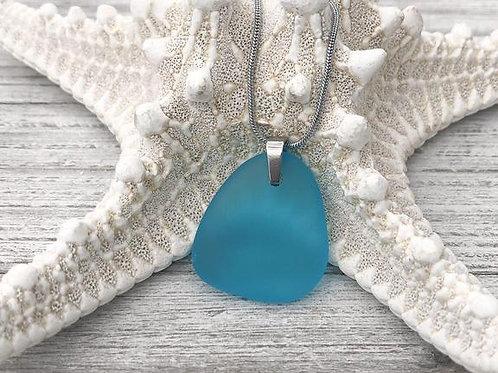 Beach Blossom Sea Glass Necklace