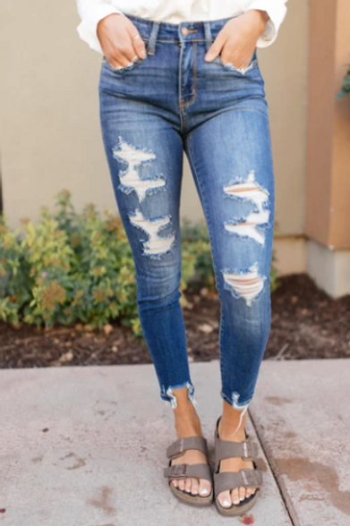 Tattered & Torn Jeans