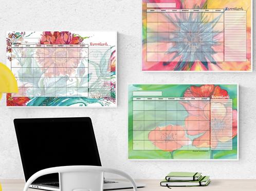 Blank Calendar for Desk or Wall