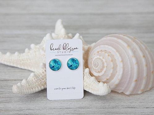 Beach Inspired (Round) Earrings