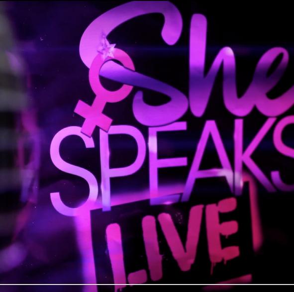 SHE SPEAKS LIVE