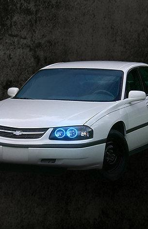 2001-05 chevy impala multi color halo kit