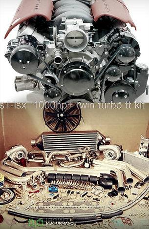 ls1-lsx sbc twin turbo t3/t4 kit