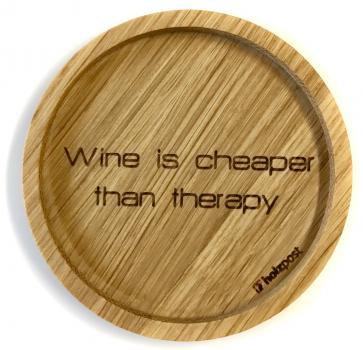 Holzuntersetzer Wine is cheaper
