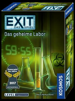 Exit: Das geheime Labor