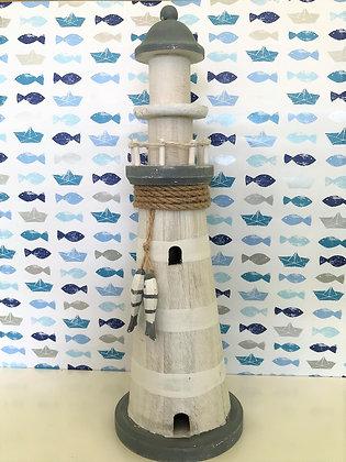 Leuchtturm Holz