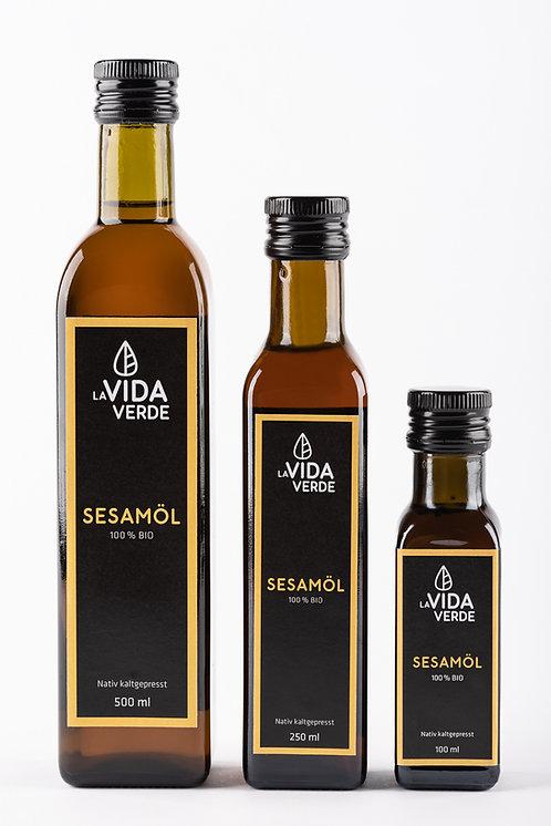 Sesamöl, Bio-Öl, kaltgepresst, Speiseöl, La Vida Verde, bestes Öl