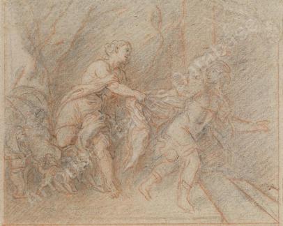 Cat. 2014-D. 25 - Joseph et la femme de Putiphar