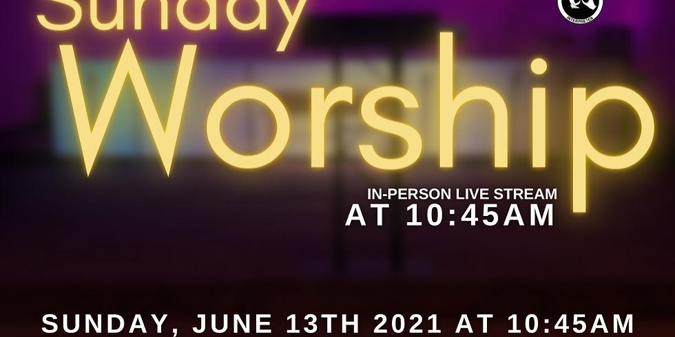 Live Indoor Worship Service