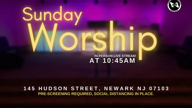 Live Indoor Worship Service  | August 8