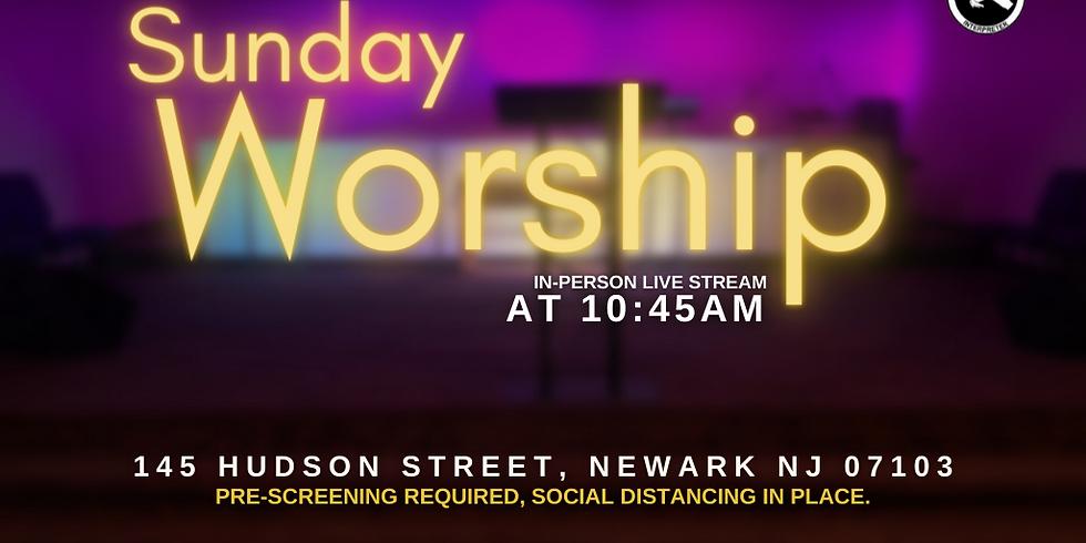 Live Indoor Worship Service  | July 25