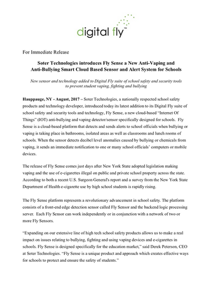 Microsoft Word - DF Press Release - Fly