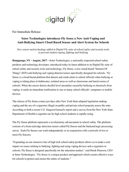 Microsoft Word - DF Press Release - Fly