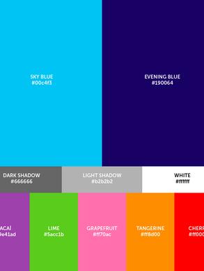 Color histogram