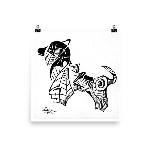 Royal Dog Print