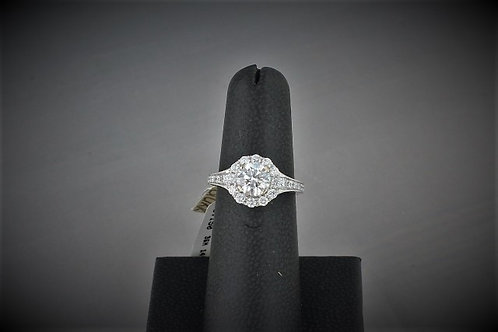 1.78ctw 14k white gold diamond ring