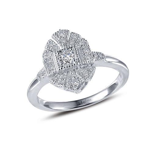 Sterling Silver Vintage Inspired Ring