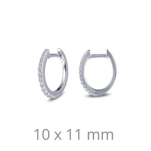 Sterling Silver Dainty Huggie Hoop Earrings