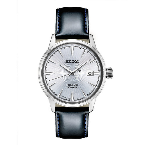 Seiko Presage Auto Wind Hand & Leather Band Watch
