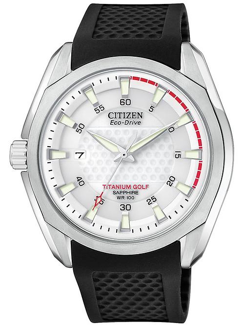 Citizen CHANDLER Eco-Drive Titanium Golf Watch