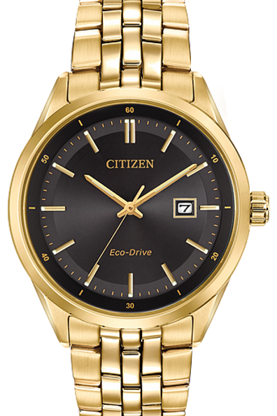 Corso : Citizen Eco-Drive Men's Watch Gold Tone