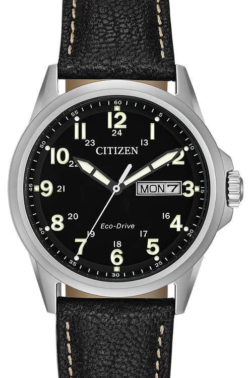 Citizen CHANDLER Eco-Drive Retro Military Inspired Watch