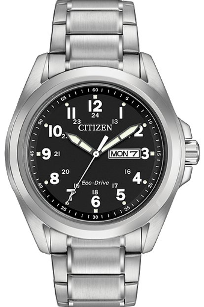 Garrison: Men's Eco-Drive Solar Watch