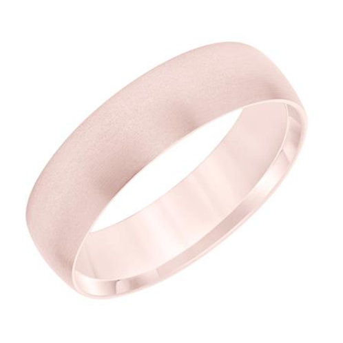 14k Rose Gold Men's Wedding Band