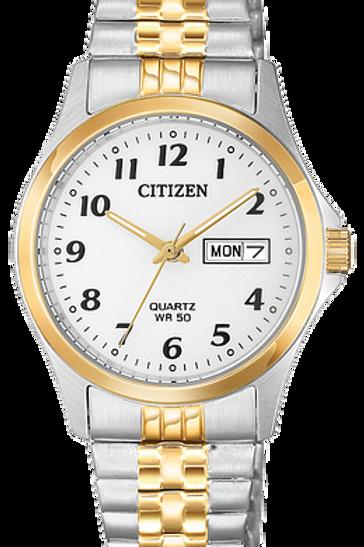 Men's Citizen Two-Tone Quartz Watch