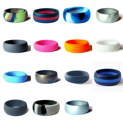 Active Life Silicone Wedding Bands
