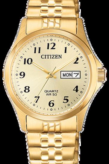 Ladies Citizen Gold-Tone Quartz Watch