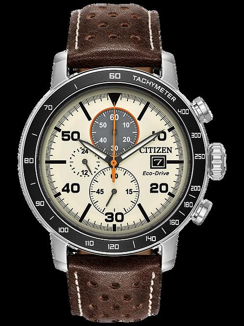 Brycen Men's Eco-Drive Solar Watch