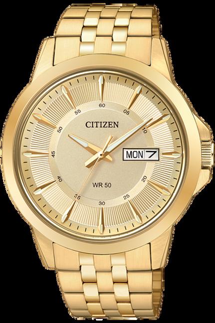 Men's Citizen Quartz Watch Gold Tone