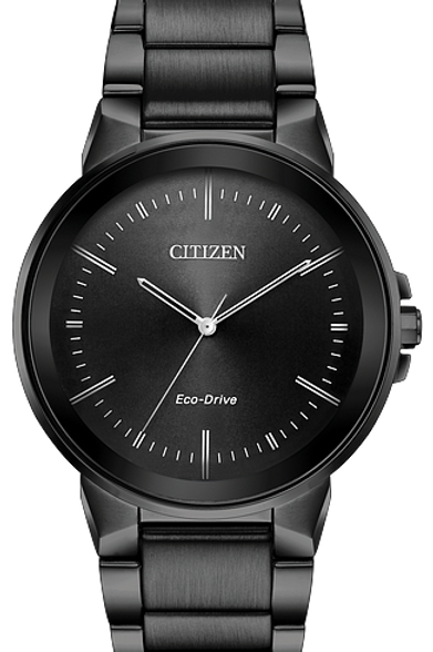 Axiom : Men's Citizen Eco-Drive Solar Watch In Gray