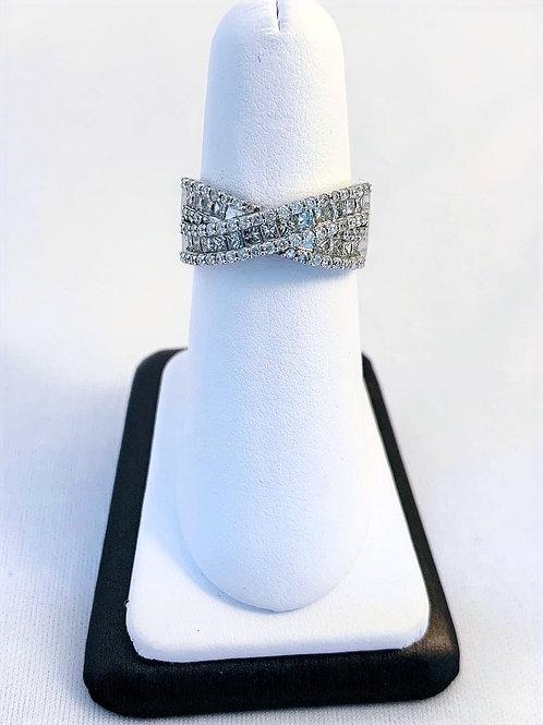 14k White Gold 1.50ct Diamond Fashion Ring