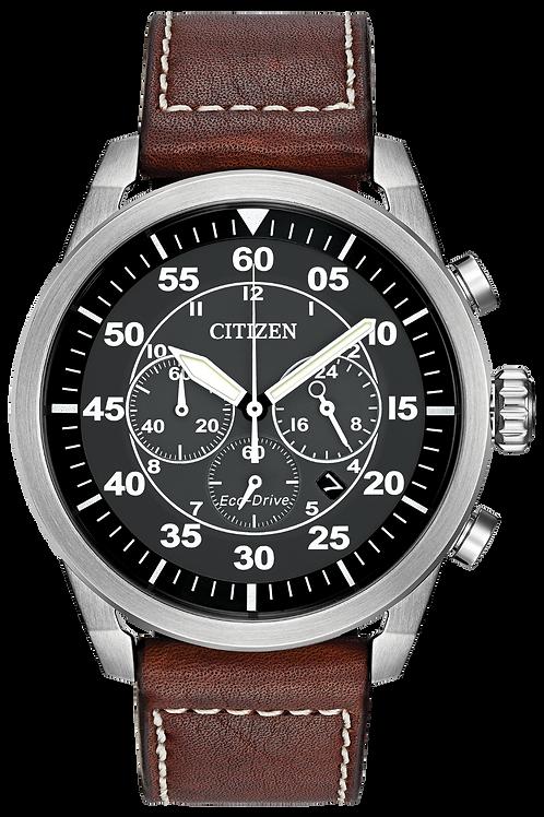 Citizen AVION Vintage Eco-Drive Retro Watch