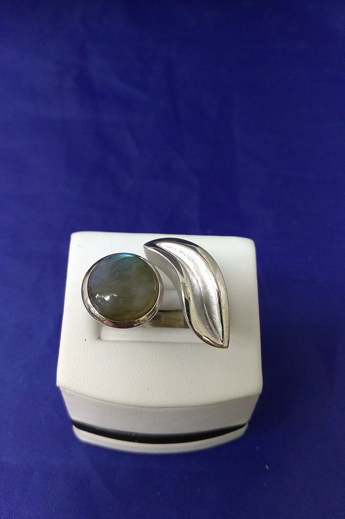 Moon Stone & Silver Ring