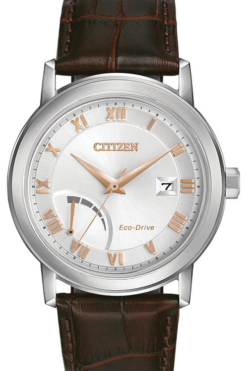 Citizen PRT Eco-Drive Leather Strap Watch