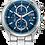 Thumbnail: Drive : Citizen Eco-Drive Solar Men's Watch In Blue & Silver