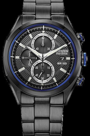 Drive : Citizen Eco-Drive Men's Black Solar Watch