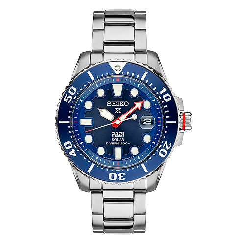 Seiko PROSPEX Solar Powered Divers Watch 660' Water Resistant