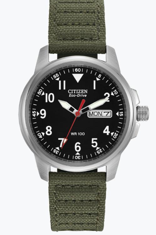 Army Green Chandler Citizen Watch