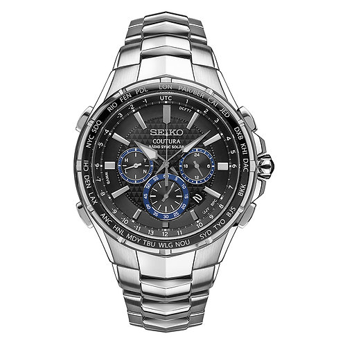 Seiko Coutura Solar Radio Controlled Watch Water Resistant
